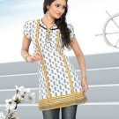 Indian Bollywood Cotton Partywear Kurti Kurta Tops - X 1001B