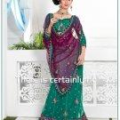 Wedding Net Designer Embroidery Lehenga saree - TS 27013 N