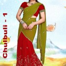 Partywear Faux Georgette Embroidery Lehenga Sari With Blouse - GW Chulbulli A N