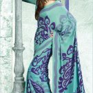 Crepe Partywear Casual Printed Saris Saree With Blouse - VF 4710B N