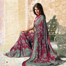 Crepe Partywear Casual Printed Saris Saree With Blouse - VF 4706B N