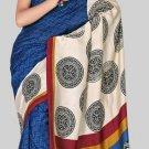 Silk Casual Partywear Designer Printed Sarees Sari With Blouse - X 4352C N