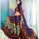 Faux Georgette Partywear Designer Printed Saree Sari With Blouse - X 2530 N