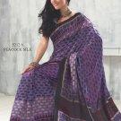 Sari Saree Raw Silk Casual Printed With Unstitch Blouse - VF 5212A N