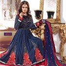 Silk Designer Embroidery Shalwar Salwar Kameez With Dupatta - CS 6008 N