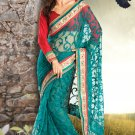 Bridal Net Silk Traditional Embroidery Full Patli Saree With Blouse - OD 18014 N
