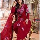 Faux Georgette Designer Embroidery Shalwar Salwar Kameez With Dupatta- CS 6016 N