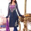 Faux Georgette Designer Embroidery Shalwar Salwar Kameez With Dupatta- CS 6006 N
