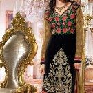 Silk Designer Embroidery Shalwar Salwar Kameez With Dupatta - CS 6011 N