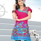 Indian Bollywood Cotton Partywear Kurti Kurta Tops - X 1013A