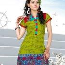 Indian Bollywood Cotton Partywear Kurti Kurta Tops - X 1012A