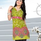 Indian Bollywood Cotton Partywear Kurti Kurta Tops - X 1010B