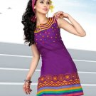 Indian Bollywood Cotton Partywear Kurti Kurta Tops - X 1005A