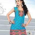 Indian Bollywood Cotton Partywear Kurti Kurta Tops - X 1009A
