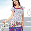 Indian Bollywood Cotton Partywear Kurti Kurta Tops - X 1006B