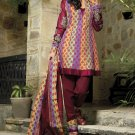 Cotton Banarsi Partywear Designer Shalwar & Salwar Kameez With Dupatta- X 2611 N