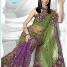 Partywear Brasso Embroidered Sari With Unstitch Blouse - TS 30017 N