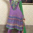 Georgette & Chiffon Partywear Embroidered Shalwar & Salwar Kameez - X 3449 N