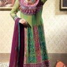 Jacquard & Chiffon Partywear Embroidered Shalwar & Salwar Kameez - X 3419 N