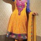 Georgette & Chiffon Partywear Embroidered Shalwar & Salwar Kameez - X 3446 N