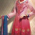 Net & Chiffon Partywear Embroidered Shalwar & Salwar Kameez - X 3425 N