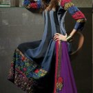 Georgette & Chiffon Partywear Embroidered Shalwar & Salwar Kameez - X 3443 N
