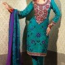 Jacquard & Chiffon Partywear Embroidered Shalwar & Salwar Kameez - X 3429 N