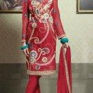 Georgette & Chiffon Partywear Embroidered Shalwar & Salwar Kameez - X 3444 N