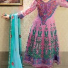 Net & Chiffon Partywear Embroidered Shalwar & Salwar Kameez - X 3428 N
