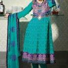 Jacquard & Chiffon Partywear Embroidered Shalwar & Salwar Kameez - X 3420 N