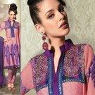 Jacquard & Chiffon Partywear Embroidered Shalwar & Salwar Kameez - X 3415 N