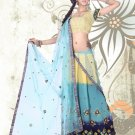 Partywear Faux Georgette Embroidery Lehenga Sari With Blouse - GW Rambha A-2 N