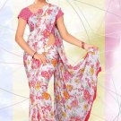 Partywear Sofia Embroidered Saree With Blouse - LS 8779 N
