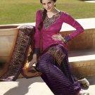 Jaquard Partywear Embroidered Shalwar & Salwar Kameez With Dupatta - X 7183A N