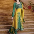 Viscose Partywear Embroidered Shalwar & Salwar Kameez With Dupatta - X 7188B N