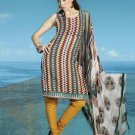 Soft Cotton Designer Printed Shalwar & Salwar Kameez With Dupatta - X 8093c N