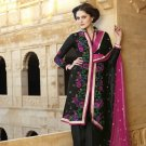 Viscose Partywear Embroidered Shalwar & Salwar Kameez With Dupatta - X 7189B N