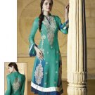 Georgette Partywear Embroidered Shalwar & Salwar Kameez With Dupatta - X 7184A N