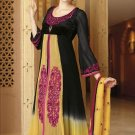 Viscose Partywear Embroidered Shalwar & Salwar Kameez With Dupatta - X 7190A N