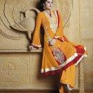 Georgette Partywear Embroidered Shalwar & Salwar Kameez With Dupatta - X 7184B N