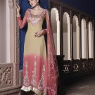Viscose Partywear Embroidered Shalwar & Salwar Kameez With Dupatta - X 7186B N