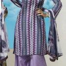 Soft Cotton Designer Printed Shalwar & Salwar Kameez With Dupatta - X 8093b N