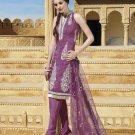 Viscose Partywear Embroidered Shalwar & Salwar Kameez With Dupatta - X 7198B N
