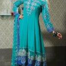 Georgette & Net Partywear Embroidered Shalwar & Salwar Kameez - X 3406 N