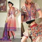 Georgette & Chiffon Partywear Embroidered Shalwar & Salwar Kameez - X 3411 N