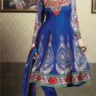 Net & Chiffon Partywear Embroidered Shalwar & Salwar Kameez - X 3403 N