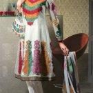 Net & Chiffon Partywear Embroidered Shalwar & Salwar Kameez - X 3404 N
