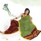 Sari Saree Faux Georgette Casual Printed With Unstitch Blouse - VF 4917a N