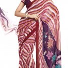 Sari Saree Faux Georgette Casual Printed With Unstitch Blouse - VF 4907b N