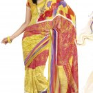 Sari Saree Faux Georgette Casual Printed With Unstitch Blouse - VF 4913a N